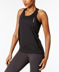 Reebok Element Burnout Racerback Tank Top Black