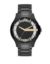Armani Exchange Stainless Steel Wrist Watch Black