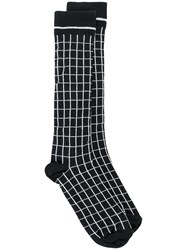 Haider Ackermann Checked Socks Black