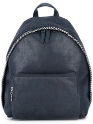 Stella Mccartney Small 'Falabella' Backpack Blue