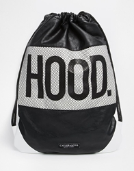 Cayler And Sons Hood Love Drawstring Backpack Black