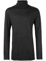 Ann Demeulemeester Turtle Neck Jumper Grey
