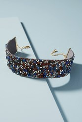 Anthropologie Laura Choker Dark Blue