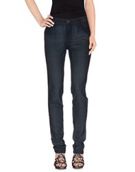 Guess By Marciano Denim Denim Trousers Women Blue
