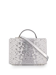 Philipp Plein Crystal Box Bag White