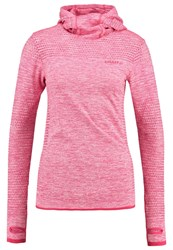 Craft Core Long Sleeved Top Push Mottled Pink