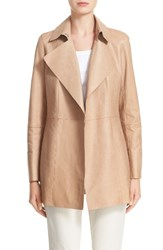 Lafayette 148 New York Women's Leather Trench