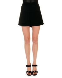 Givenchy Banded Waist A Line Shorts 38 Us 4