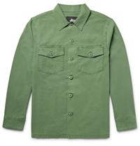 Stussy Cotton Ripstop Field Jacket Green