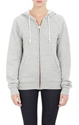 Band Of Outsiders Zip Front Hoodie Colorless Size 0 0 Us