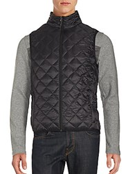 Hawke And Co Quilted Down Vest Black
