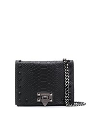 Marc Ellis Studded Lizard Effect Crossbody Bag 60