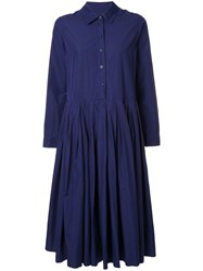 Casey Casey Helayanne Shirt Dress Blue