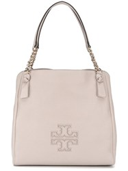 Tory Burch 'Harper' Tote Pink Purple