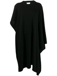 Maison Martin Margiela Asymmetric Knitted Dress Black