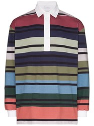 J.W.Anderson Jw Anderson Striped Rugby Polo Shirt Multicolour
