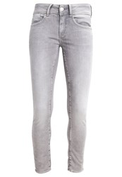 G Star Gstar Lynn Mid Skinny Ankle Slim Fit Jeans Grey Grey Denim