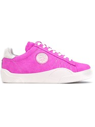 Eytys 'Wave Rough' Sneakers Unisex Leather Calf Suede Rubber 38 Pink Purple