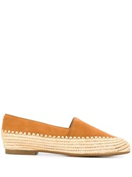 Michael Michael Kors Woven Espadrille Style Shoes Brown