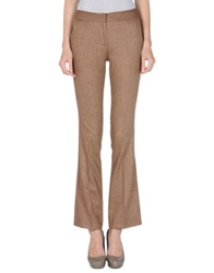 Space Style Concept Dress Pants Brown