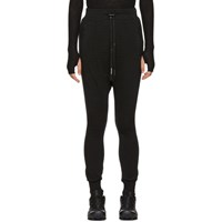 Boris Bidjan Saberi Black Long John 2 Lounge Pants
