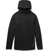 Nike Sportswear Cotton Blend Tech Fleece Zip Up Hoodie Black