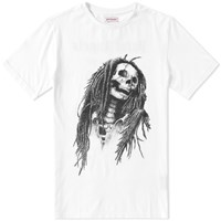 Palm Angels Skull Tee White