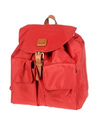Bric's Backpacks And Fanny Packs Red
