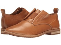 Hush Puppies Annerley Clever Tan Leather Women's Slip On Dress Shoes