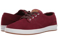 Emerica The Romero Laced Burgundy White Men's Skate Shoes
