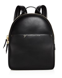 Giuseppe Zanotti Leather Backpack 100 Bloomingdale's Exclusive Nero Black Gold