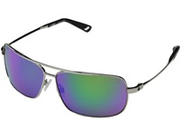 Spy Optic Leo Silver Happy Bronze W Green Spectra Fashion Sunglasses