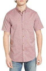 Billabong Men's All Day Short Sleeve Oxford Shirt Fig
