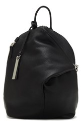 Vince Camuto Small Giani Leather Backpack Black Nero