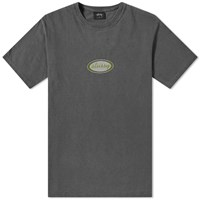 Stussy Oval Pigment Dyed Tee Black