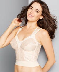 Carnival Wide Band Shoulder Strap Longline Bra 730 Blush