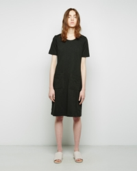 Raquel Allegra Front Pocket Dress Hunter Green