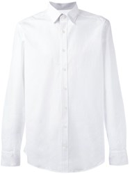 Hackett Classic Button Down Shirt White