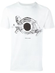 Soulland 'Horn' T Shirt White