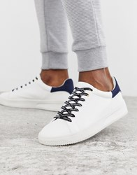 Creative Recreation Slogan Trainer With Navy Suede White