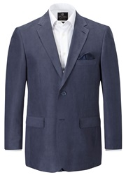 Skopes Porto Casual Herringbone Blazer Blue