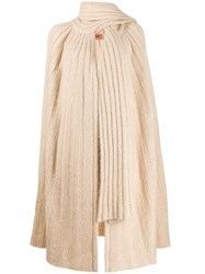 Missoni Scarf Neck Cardigan Neutrals
