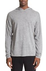 Alexander Wang Men's T By Wool Hoodie Slate Grey