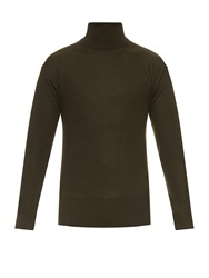 Lemaire Roll Neck Wool Sweater