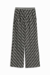 Missoni Flower Wide Leg Trousers Black