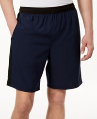 Ideology Id Men's Contrast Woven 9 Shorts Created For Macy's Night Sky
