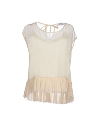 Jucca Blouses Ivory