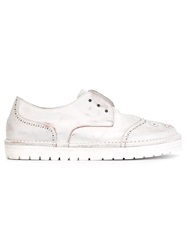 Marsell Marsell Laceless Brogue Shoes White