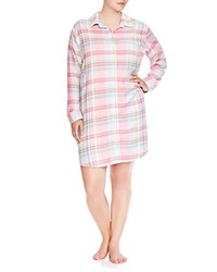 Lauren Ralph Lauren Plus Flannel His Shirt Sleepshirt