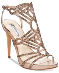 Inc International Concepts Women's Surrie Evening Sandals Only At Macy's Women's Shoes Light Bronze